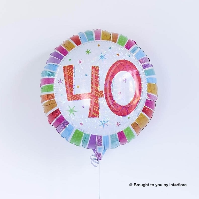 40th Birthday Balloon