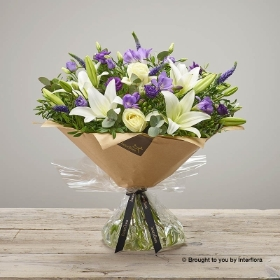 Iced Violet Hand-tied
