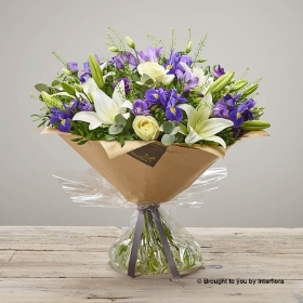 Purple Comfort Hand tied